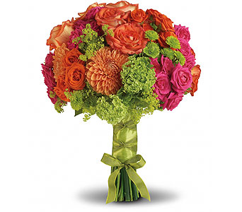 Citrus Splash Bouquet in Las Vegas NV, Flowers By Michelle