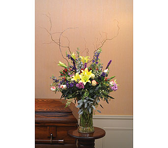 Bountiful Arrangement in Dearborn Heights MI, English Gardens Florist