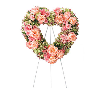 Heartfelt Standing Easel in Dearborn Heights MI, English Gardens Florist