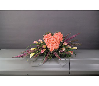 Heartfelt Casket Spray      in Dearborn Heights MI, English Gardens Florist