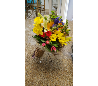 PREMIUM WRAPPED BOUQUET in The Villages FL, The Villages Florist Inc.