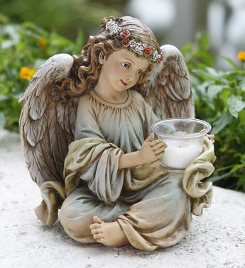 Angel Candle Holder in Martinsville IN, Flowers By Dewey