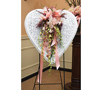 Heart Standing Easel in Dearborn Heights MI, English Gardens Florist