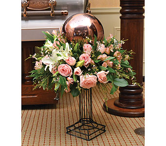 Gazing Globe Keepsake Arrangement in Dearborn Heights MI, English Gardens Florist