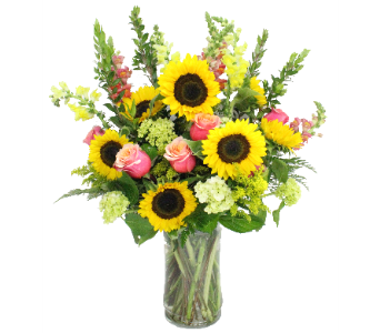Sunny Fun by Bell Flowers in Silver Spring MD, Bell Flowers, Inc