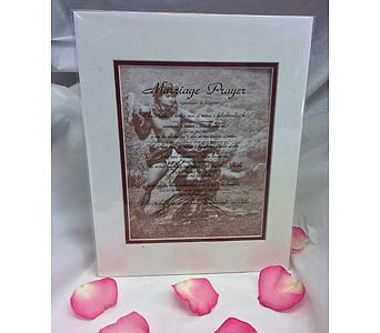 Special Marriage Prayer Matted Poster in Kihei HI, Kihei-Wailea Flowers By Cora