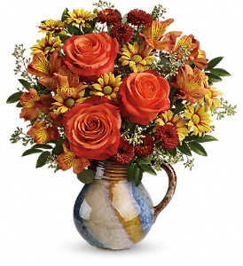 Teleflora's Blaze Of Beauty Bouquet in Pawnee OK, Wildflowers & Stuff