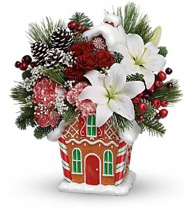 Teleflora's Candy Cottage Bouquet in Wayne NJ, Blooms Of Wayne