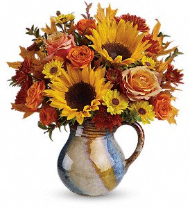 Teleflora's Glaze Of Glory Bouquet in Pawnee OK, Wildflowers & Stuff