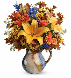 Teleflora's Harvest Fields Bouquet in Elk City OK, Hylton's Flowers
