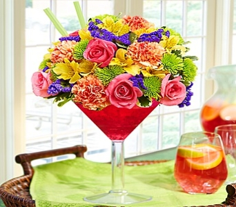 Sangria Bouquet in Round Rock TX, Heart & Home Flowers
