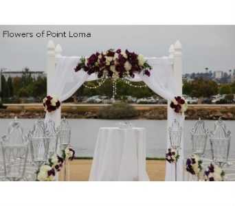 GAZEBO in San Diego CA, Flowers Of Point Loma