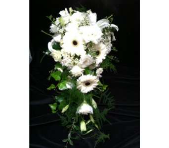 Cascading Bouquet in Creedmoor NC, Gil-Man Florist Inc.