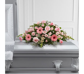 The FTD� Sweet Farewell� Casket Spray  in Woburn MA, Malvy's Flower & Gifts