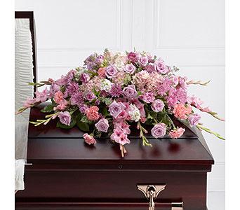 The FTD� Immorata� Casket Spray  in Woburn MA, Malvy's Flower & Gifts