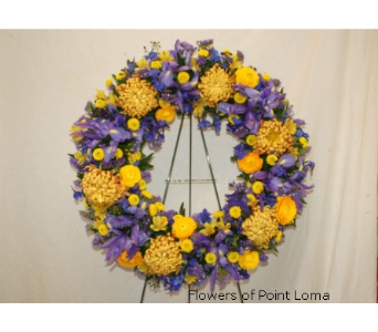 Wreath in San Diego CA, Flowers Of Point Loma