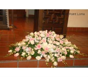 Casket Flowers in San Diego CA, Flowers Of Point Loma