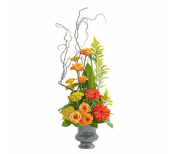 Heaven's Sunset Small  Urn in South Surrey BC, EH Florist Inc