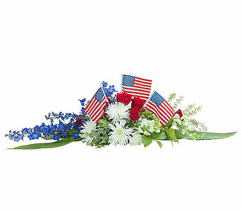 Honor and Glory Centerpiece in Alexandria and Pineville LA, House of Flowers