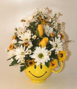Be Happy Bouquet in Salisbury MD, Kitty's Flowers