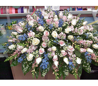 Shades of Love Casket Spray in Port Chester NY, Port Chester Florist