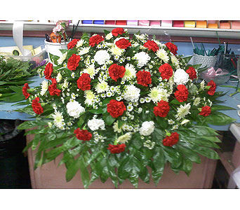 Gracious Casket Spray in Port Chester NY, Port Chester Florist