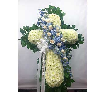 Angelic Standing Cross in Port Chester NY, Port Chester Florist
