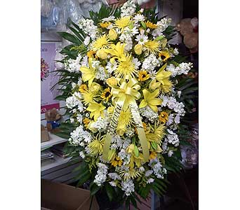 Harmony of Friendship Standing Spray in Port Chester NY, Port Chester Florist