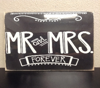 Mr. & Mrs. Forever Sign in Lubbock TX, House of Flowers