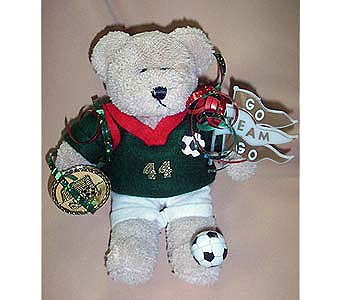 Soccer Bear Go Team in The Woodland TX, The Woodlands Flowers Too