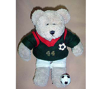 Soccer Bear in The Woodland TX, The Woodlands Flowers Too