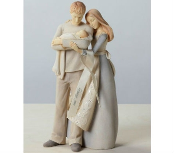 New Family Figurine in Nashville TN, The Bellevue Florist