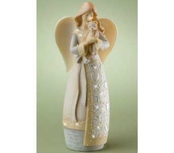 Guardian of Children Angel Figurine in Nashville TN, The Bellevue Florist