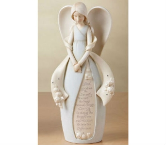 Serenity Prayer Angel Figurine in Nashville TN, The Bellevue Florist