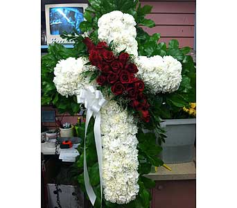 Majestic Standing Cross in Port Chester NY, Port Chester Florist