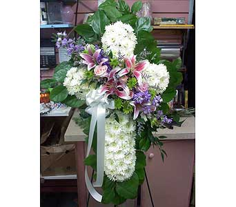 Peaceful Standing Cross in Port Chester NY, Port Chester Florist