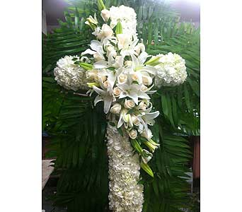 Elegance of Love Standing Cross in Port Chester NY, Port Chester Florist