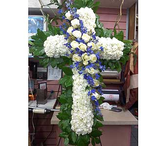 Gentle Standing Cross in Port Chester NY, Port Chester Florist