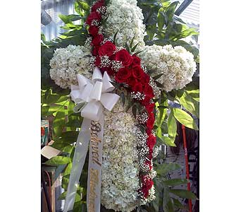 Classic Standing Cross in Port Chester NY, Port Chester Florist