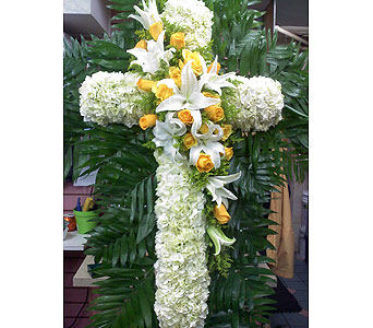 Compassionate Standing Cross in Port Chester NY, Port Chester Florist