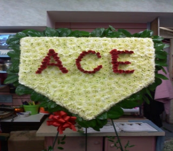 Home Plate Tribute in Port Chester NY, Port Chester Florist