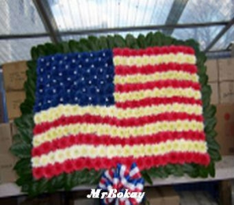 American Flag Tribute in Port Chester NY, Port Chester Florist