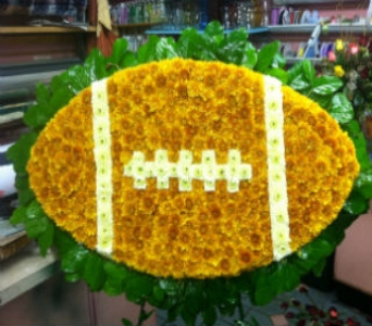 Football Tribute in Port Chester NY, Port Chester Florist