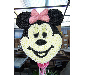 Minnie Mouse Tribute in Port Chester NY, Port Chester Florist