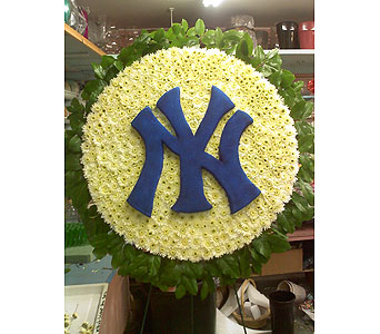 Yankees Tribute Piece in Port Chester NY, Port Chester Florist