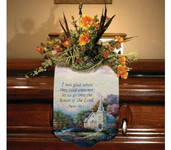 Church In the Country Memorial Scarf in Nashville TN, The Bellevue Florist
