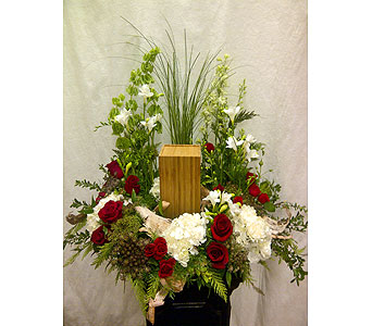 Outdoors Urn in Timmins ON, Timmins Flower Shop Inc.