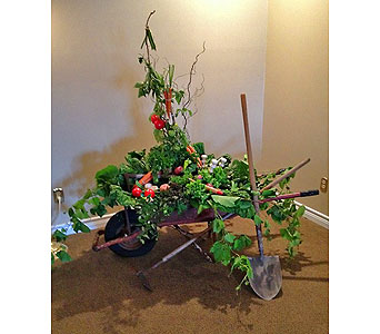 Wheel Barrel in Timmins ON, Timmins Flower Shop Inc.