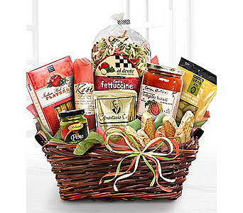 Big Italian Feast Basket in Stamford CT, Stamford Florist