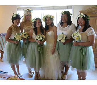 Wedding in Fremont CA, Kathy's Floral Design